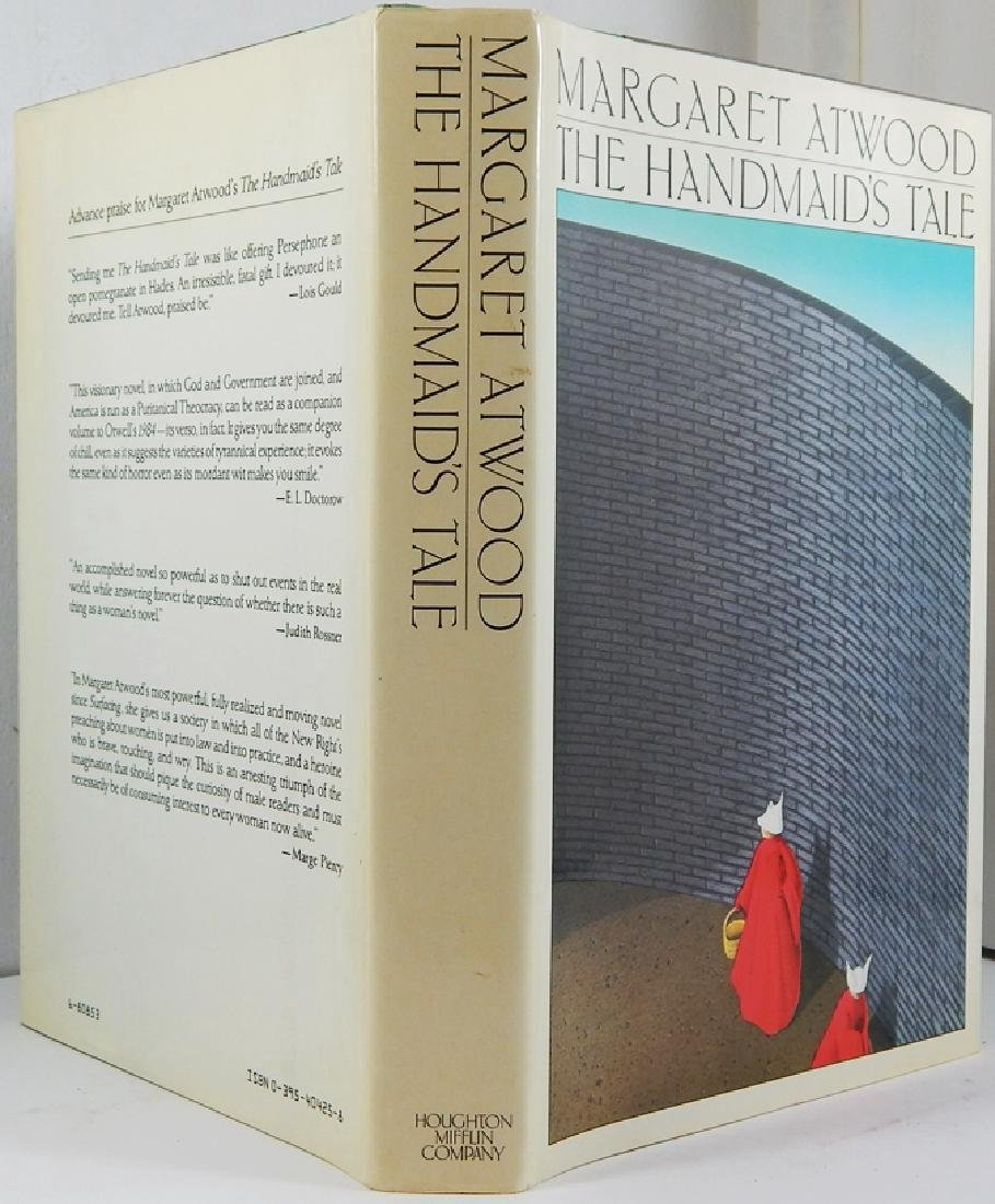 The Handmaid's Tale Signed First Printing with Bookcard - 6