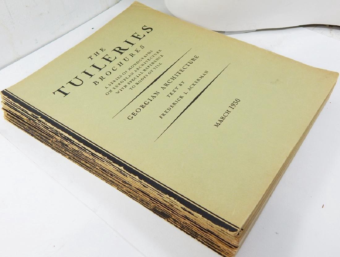 Tuileries Brochures Monographs European Architecture