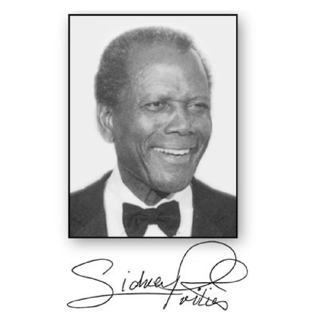 Life Beyond Measure Book Autographed by Sidney Poitier