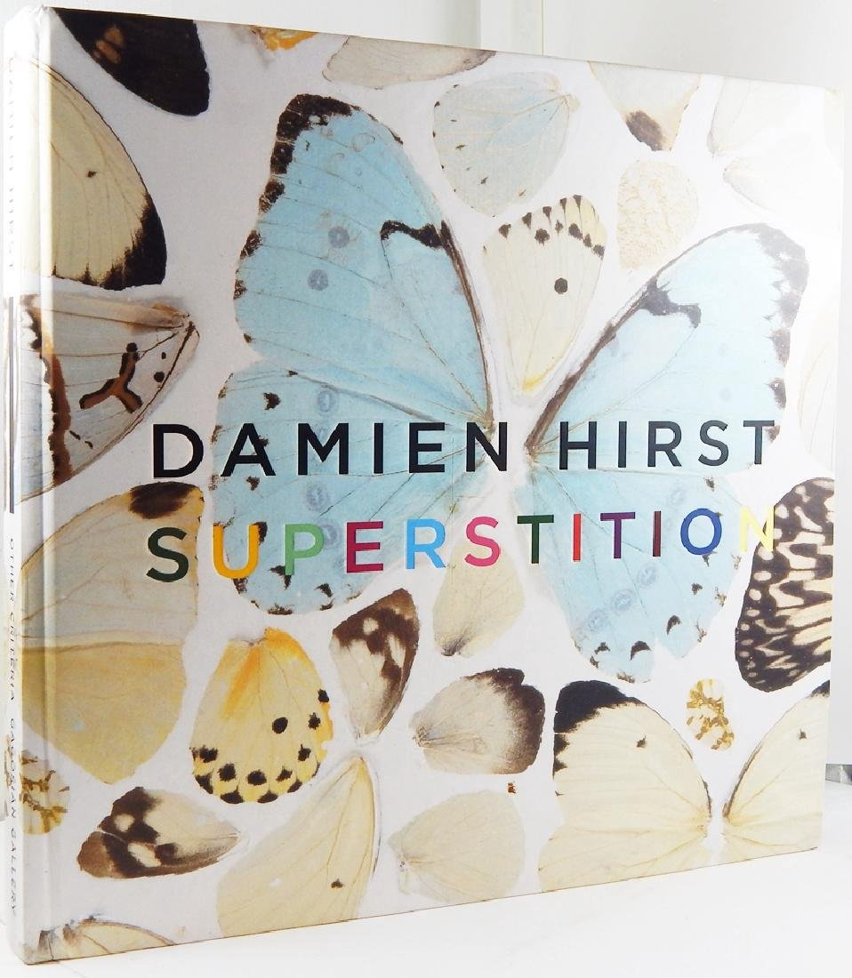 Superstition by Damien Hirst First Edition