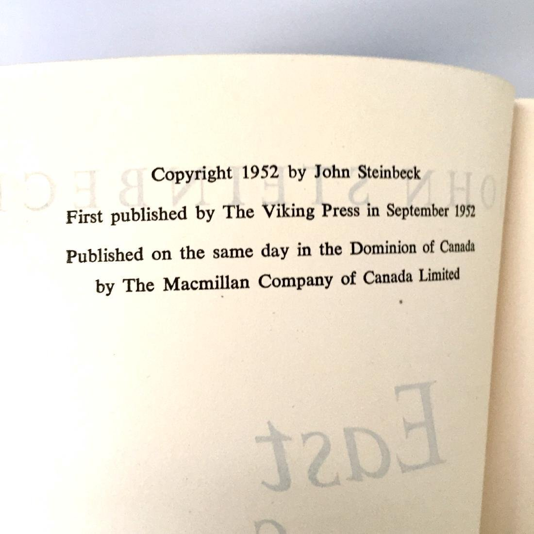 East of Eden by John Steinbeck First Edition 1952 - 2