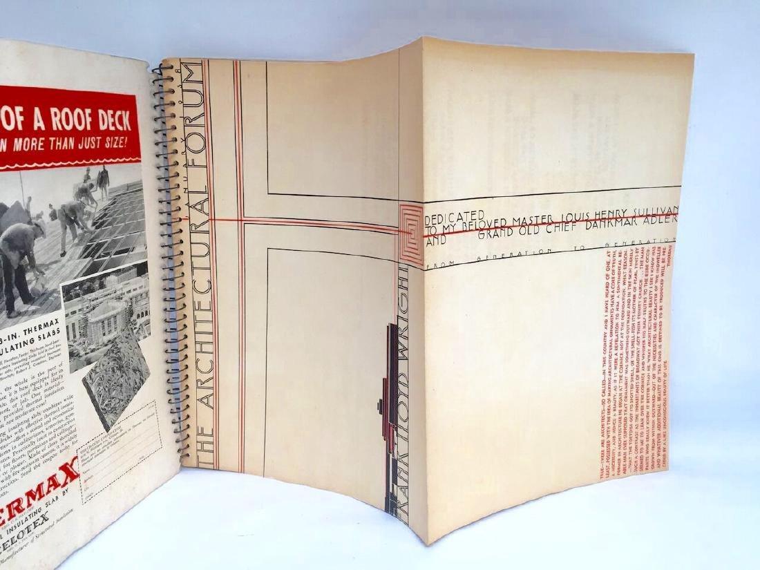 Architectural Forum 1938 Frank Lloyd Wright 1st Edition - 2
