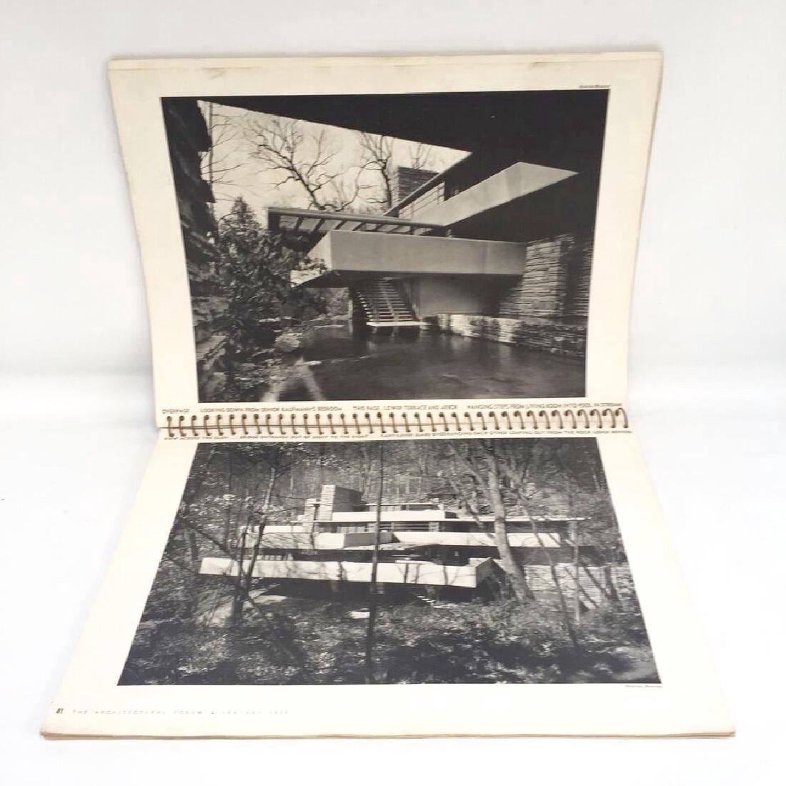 Architectural Forum 1938 Frank Lloyd Wright 1st Edition - 3