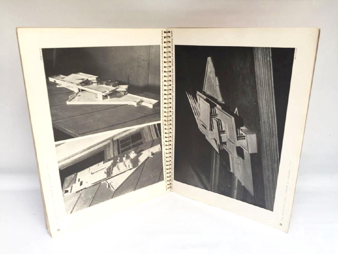 Architectural Forum 1938 Frank Lloyd Wright 1st Edition - 4