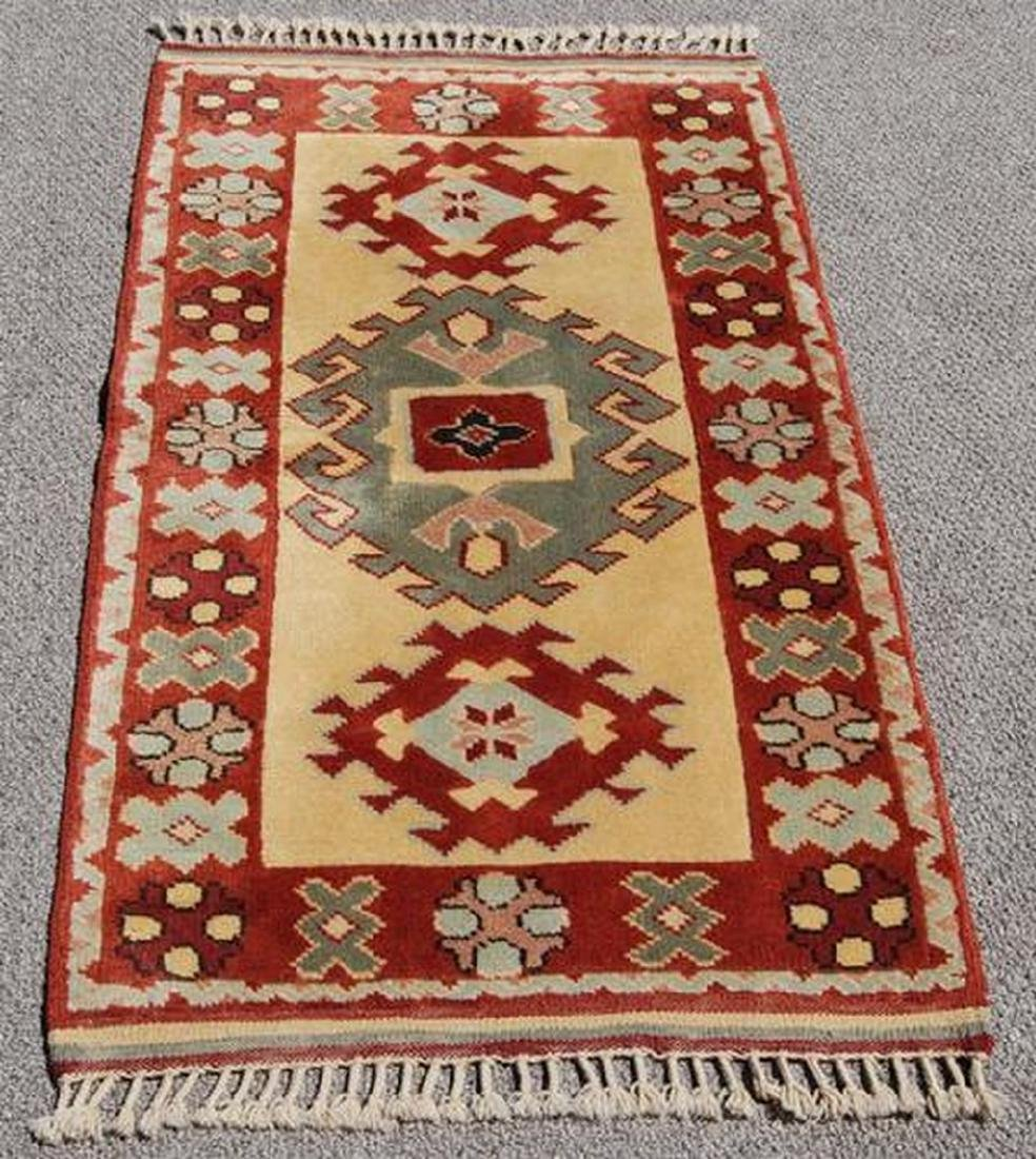 Beautiful Hand Made Turkish Konya Rug 2.7x4.9