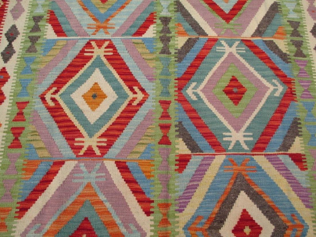 Quality Hand Woven Chobi Kilim Rug  6.8x5.2 - 3