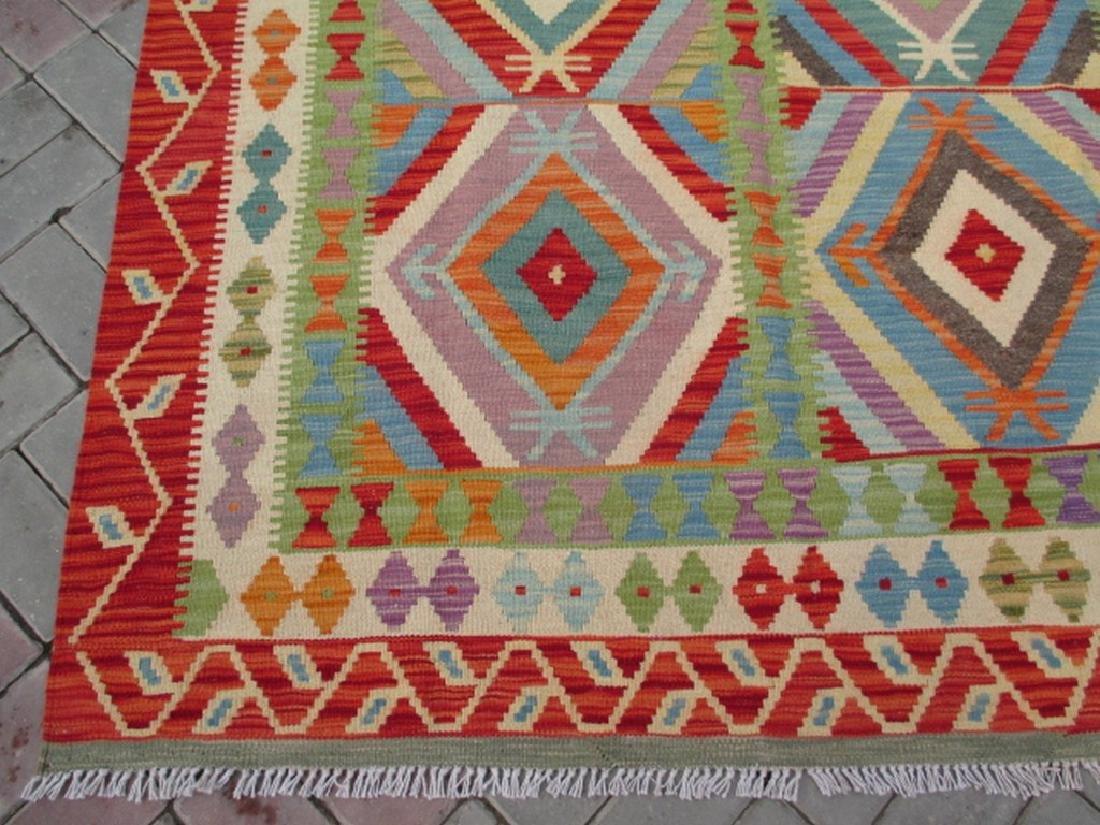 Quality Hand Woven Chobi Kilim Rug  6.8x5.2 - 4