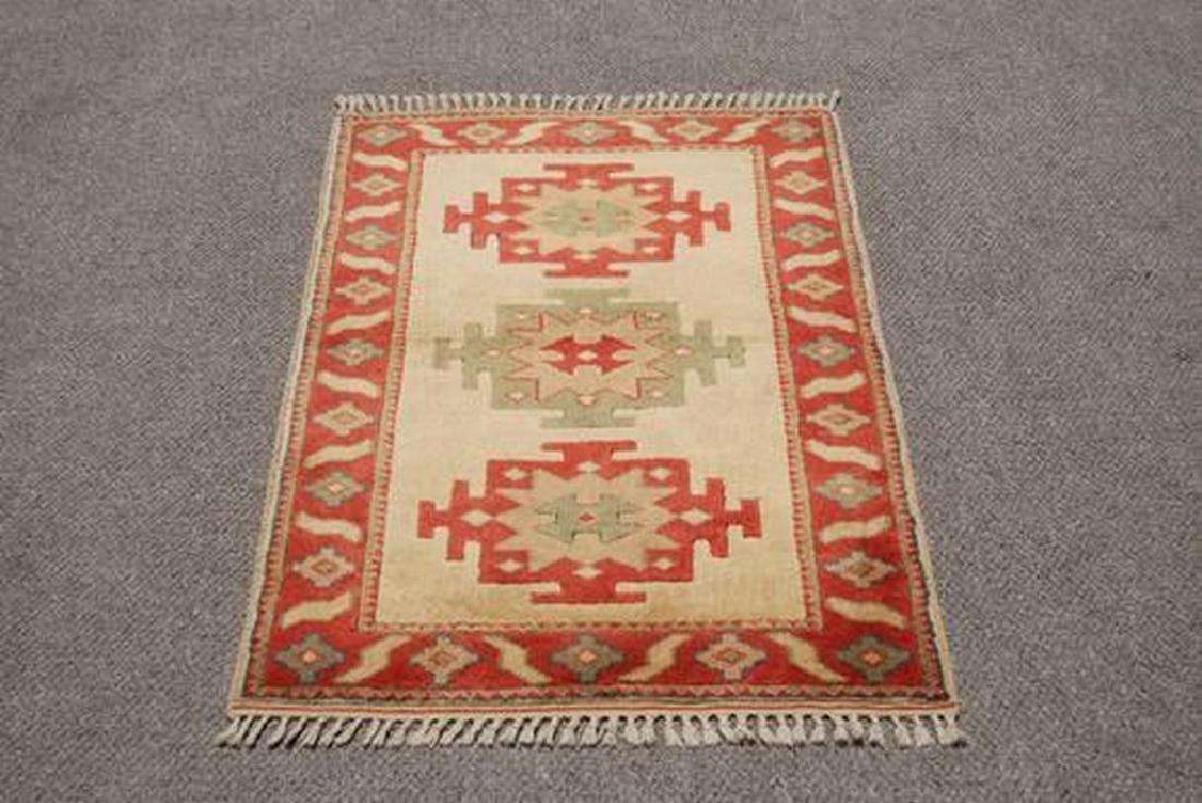 Nice Colors Hand Made Turkish Konya Rug 2.11x5