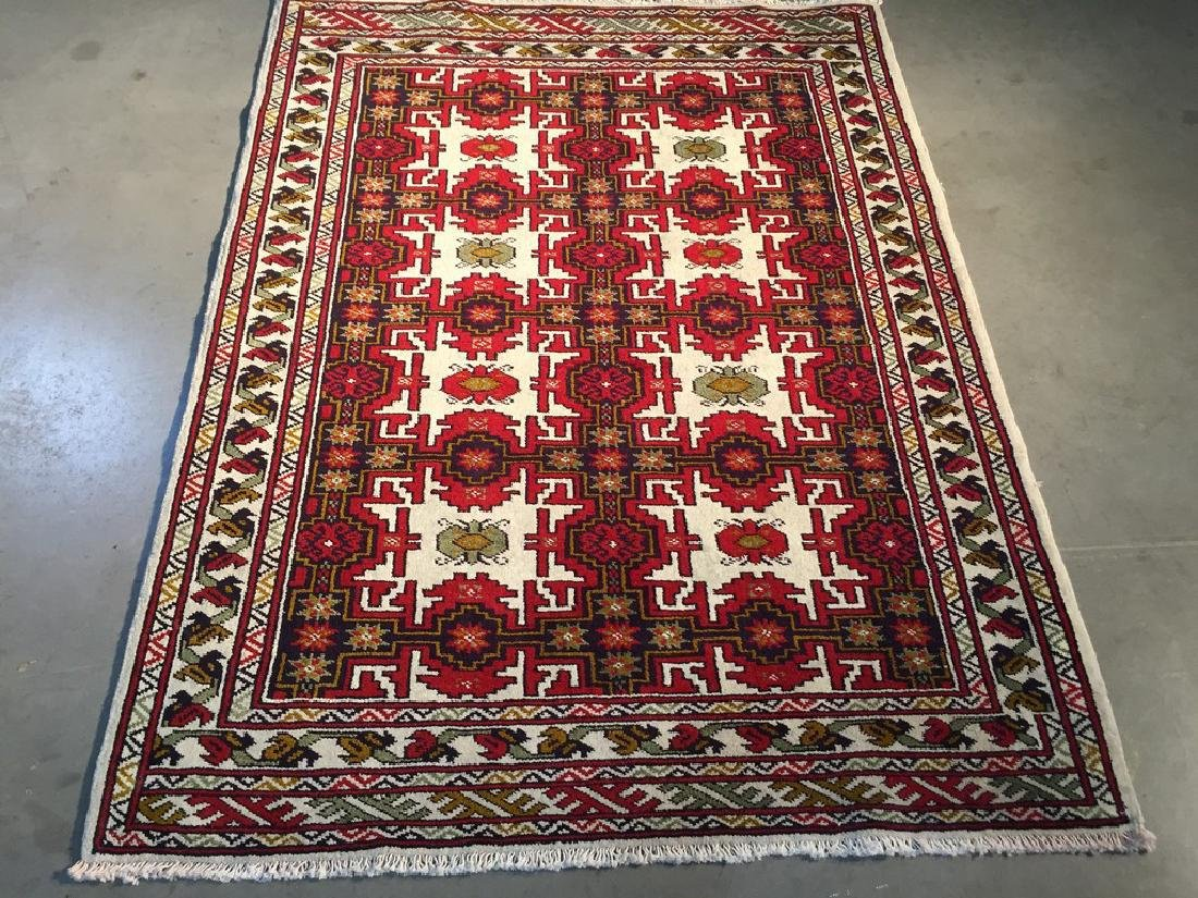 Authentic Hand Made Persian Baluchi Rug 3.3x4.8