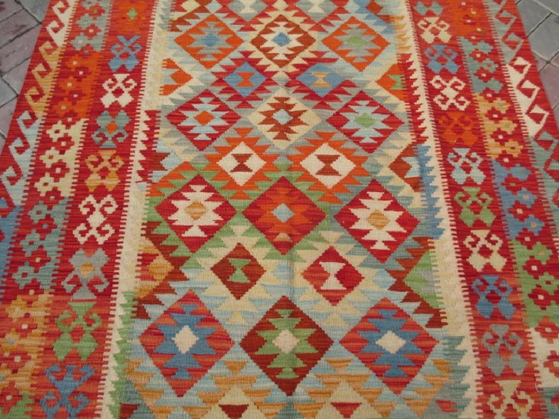 Quality Hand Woven Chobi Kilim Rug  6.5x5.2 - 2