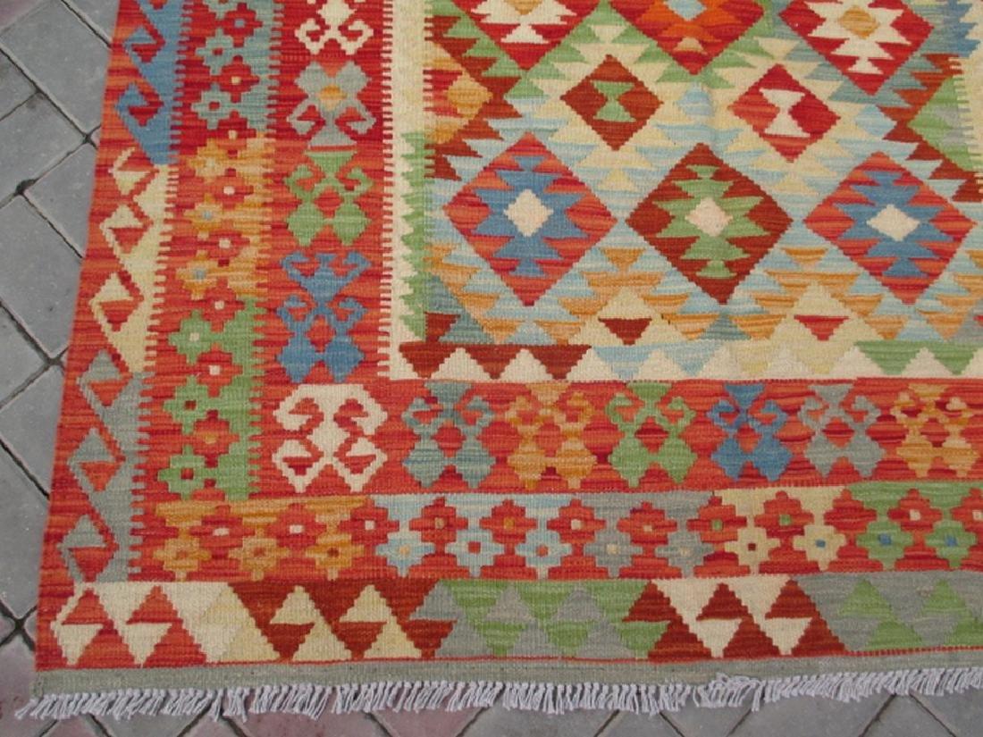 Quality Hand Woven Chobi Kilim Rug  6.5x5.2 - 4
