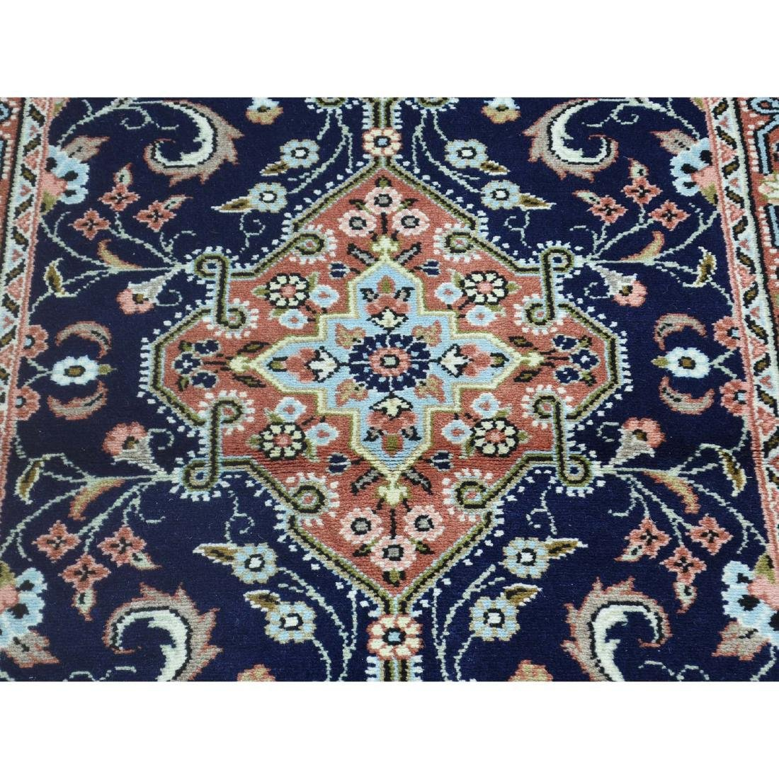 Handmade Persian Hamadan Runner Oriental Rug 2.8x10.2 - 10