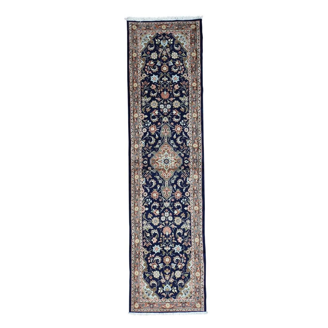 Handmade Persian Hamadan Runner Oriental Rug 2.8x10.2