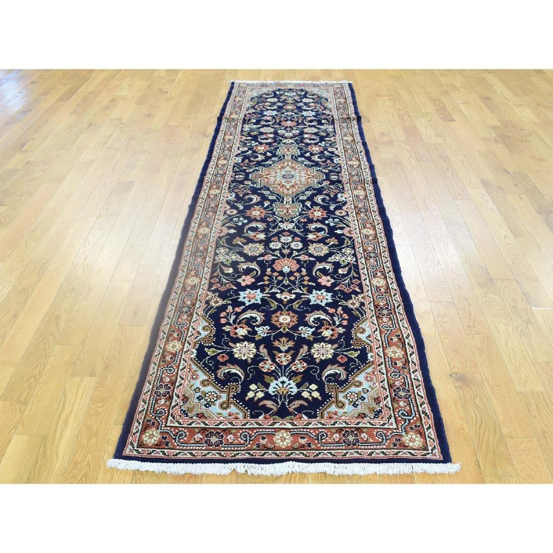 Handmade Persian Hamadan Runner Oriental Rug 2.8x10.2 - 2