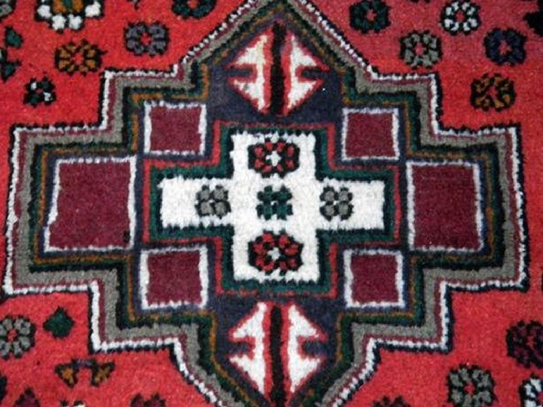 Delicate Hand Woven Authentic Hamedan Rug 4.9x3.3 - 2