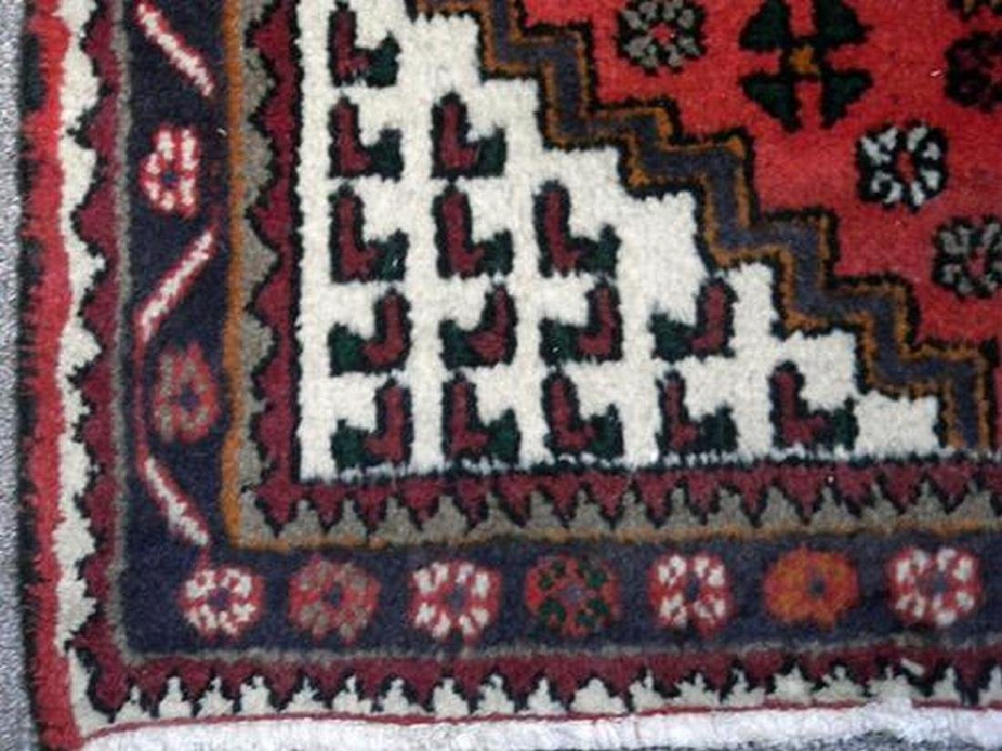 Delicate Hand Woven Authentic Hamedan Rug 4.9x3.3 - 3