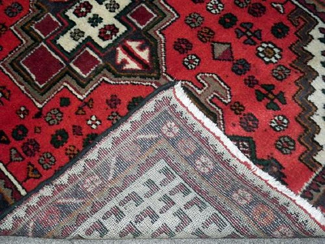 Delicate Hand Woven Authentic Hamedan Rug 4.9x3.3 - 4