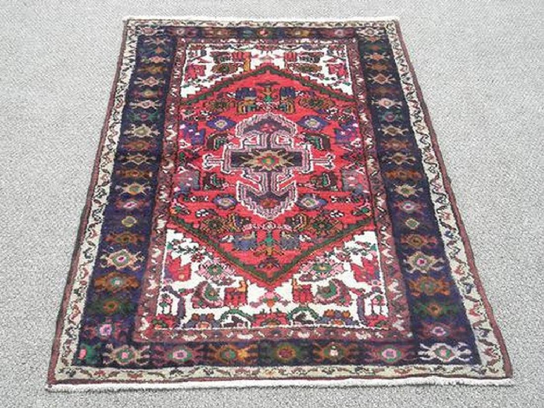 Fine Looking Hand Woven Persian Hamadan Rug 5.1x3.2