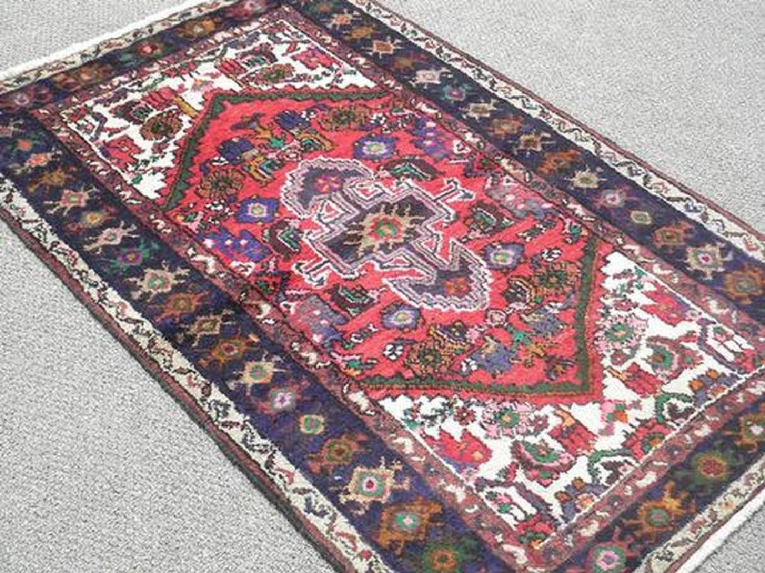 Fine Looking Hand Woven Persian Hamadan Rug 5.1x3.2 - 2