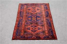 Hand Made Persian Kurdish Kolyaee Rug 4.3x6.11