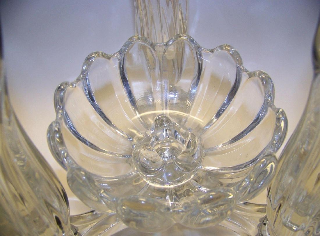 Vintage Cambridge Glass Company Epergne - 5