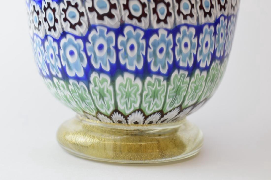 Italian Murano Amedeo Rossetto Millefiori Glass Vase - 6