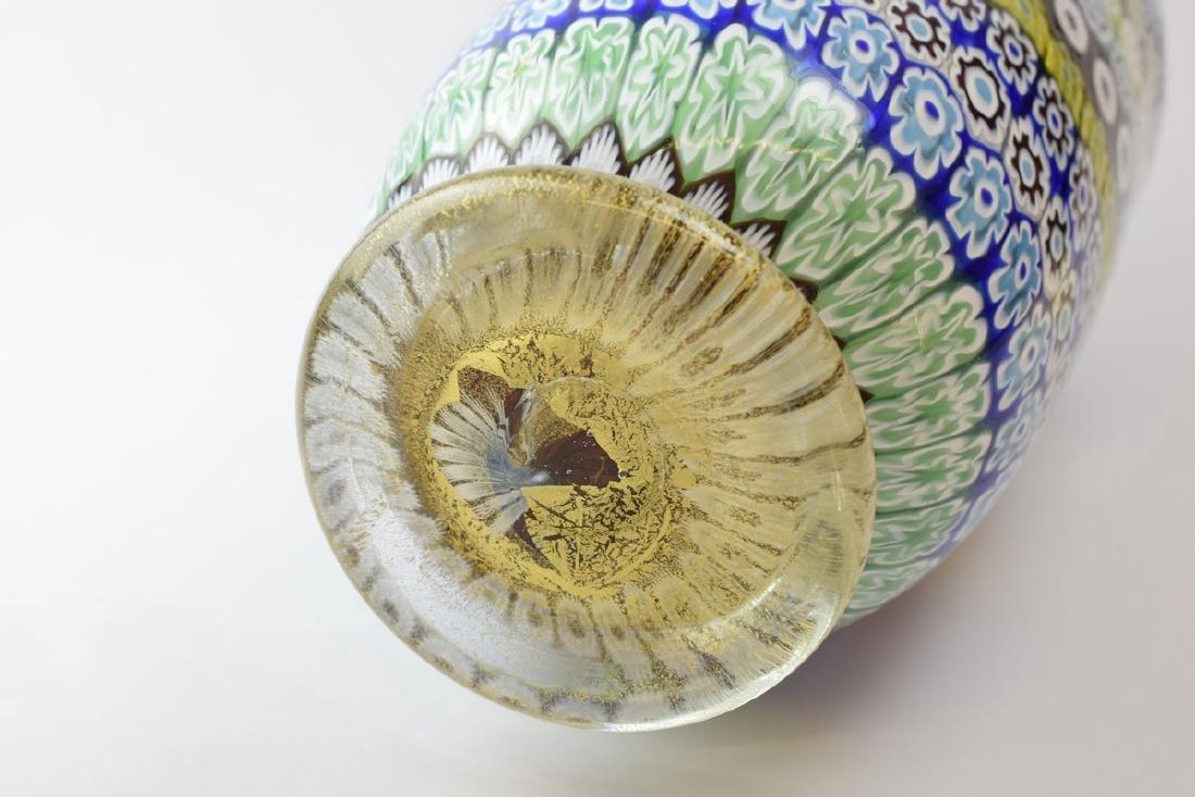 Italian Murano Amedeo Rossetto Millefiori Glass Vase - 8