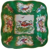 19th Century Chelsea Bird Vegetable Bowl
