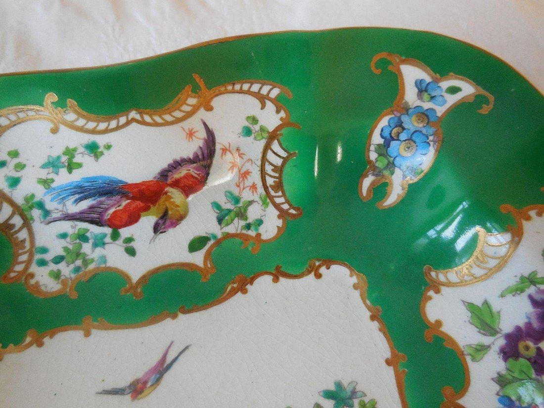 19th Century Chelsea Bird Vegetable Bowl - 4