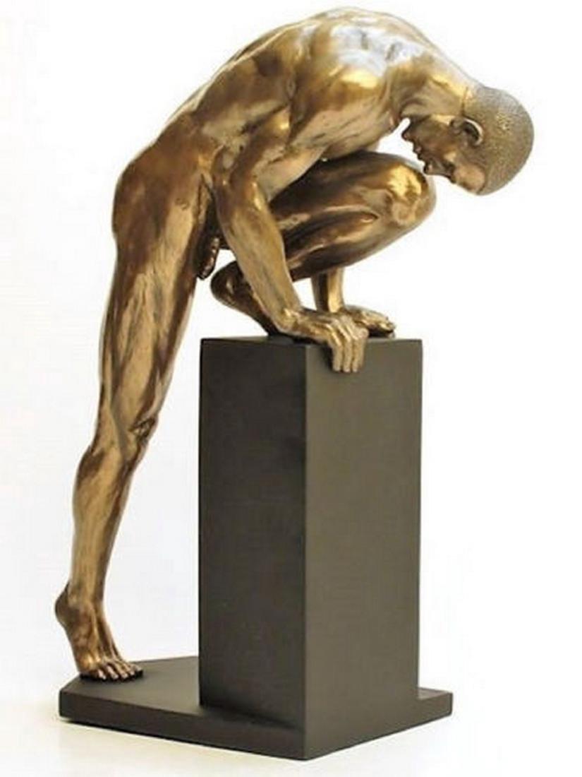 Veronese Design: BodyTalk Naked Man Standing Statue