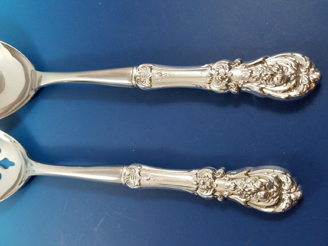 Reed & Barton Francis I Sterling Silver Salad Servers - 3