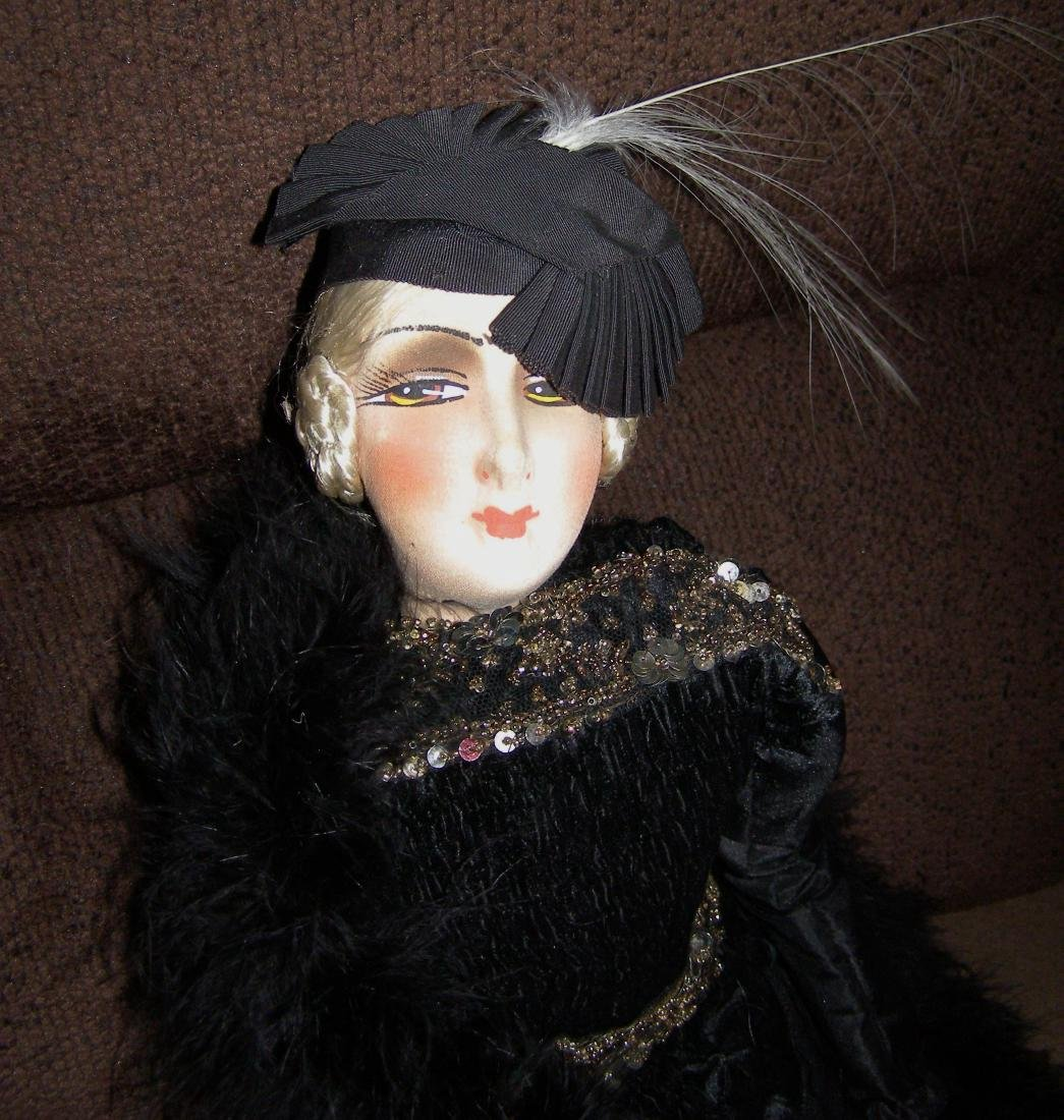 French Type Cloth Salon Doll / Bed Doll / Boudoir Doll