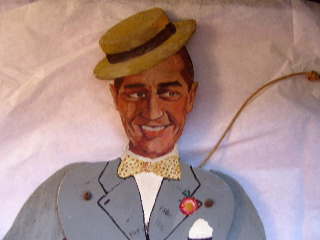 Maurice Chevalier Carved Wooden Articulated