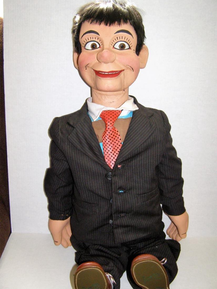 Ventriloquist Dummy by Ken Spencer-Carved Basswood