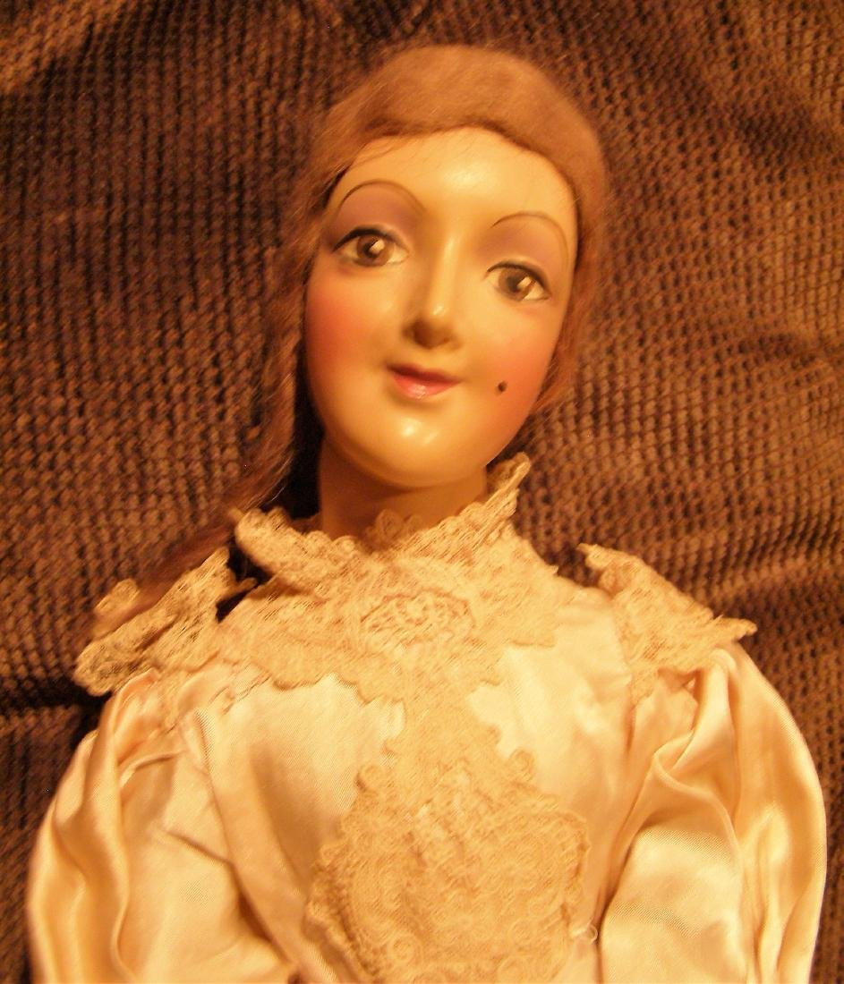 1930s Boudoir Doll / Bed Doll – Jointed Neck - Looks