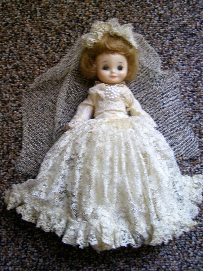 """8"""" Betsy McCall Bride Doll - McCall Corp. Rare Lace"""