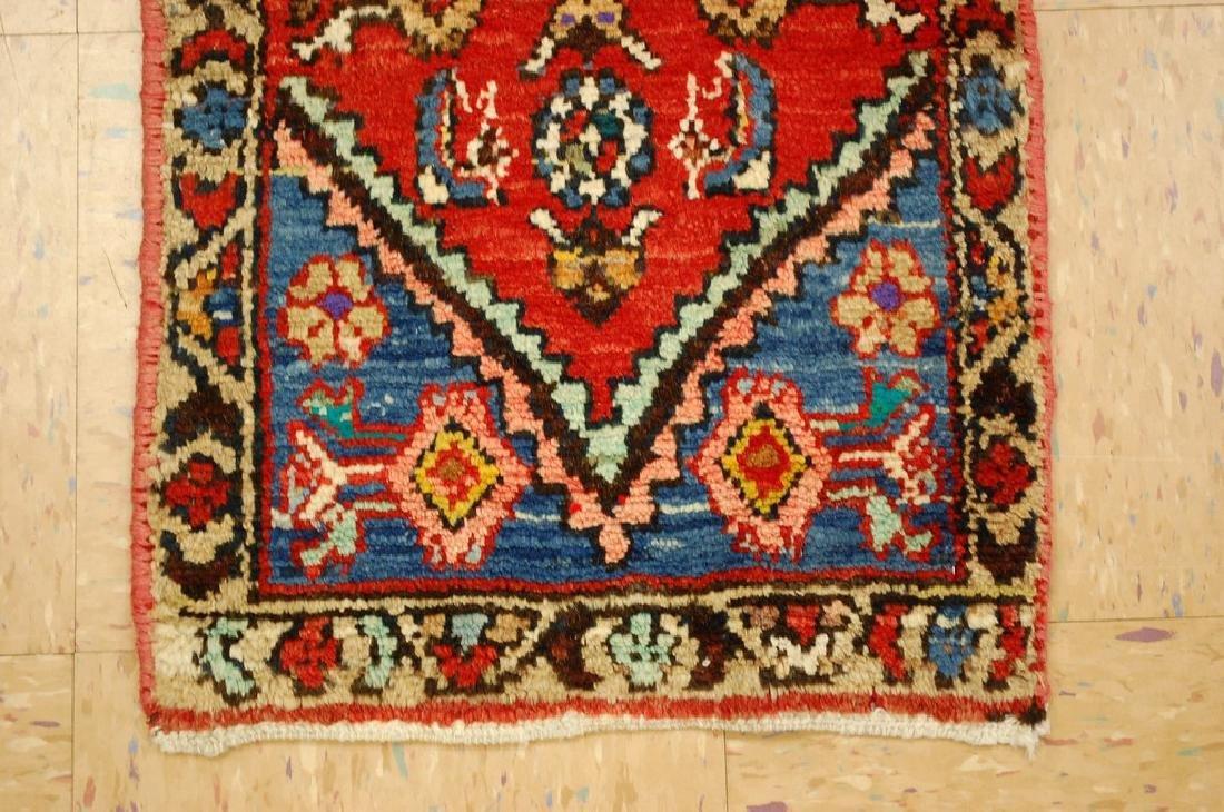 Detailed Subjects Design Fine Persian Heriz Rug 1.6x3.2 - 2