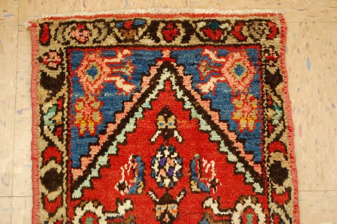 Detailed Subjects Design Fine Persian Heriz Rug 1.6x3.2 - 3
