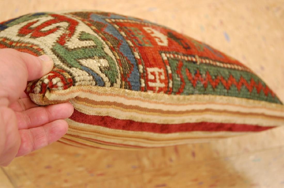 Fine Caucasian Shirvan Antique Rug Pillow 1.2x1.5 - 2