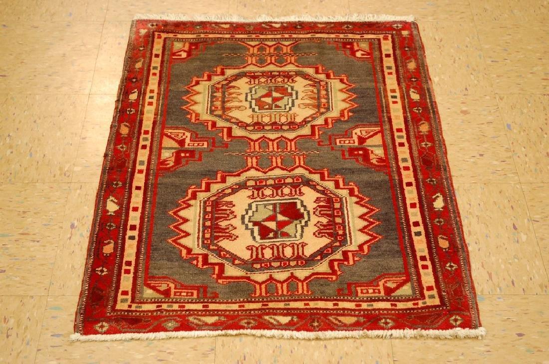 Caucasian Kazak Shirvan Design Rug 2.5x3.4