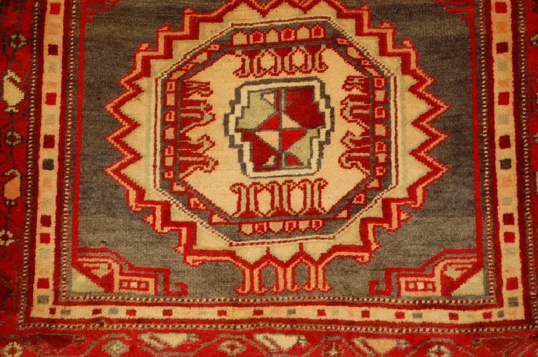 Caucasian Kazak Shirvan Design Rug 2.5x3.4 - 4