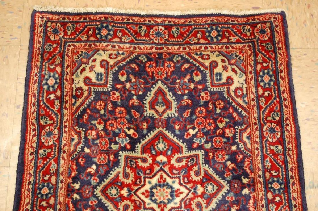 Fine Persian Sarouk Rug 2.2x3.1 - 3