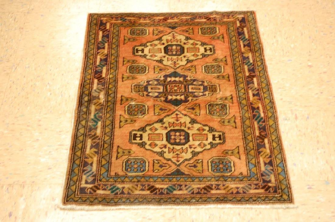 Caucasian Kazak Shirvan Design Caucasian Rug 2.5x3.3