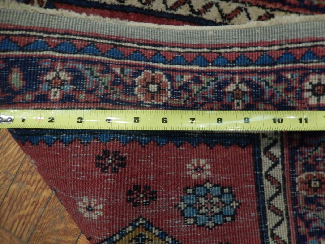 Hand Knotted Persian Hamadan Medallion Rug 2.5x4 - 6