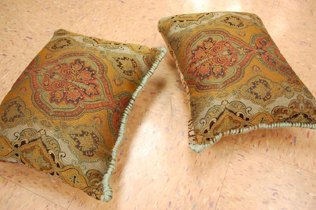 2 Fine Turkish Melas Antique Rug Pillows 1.2x1.5 - 6