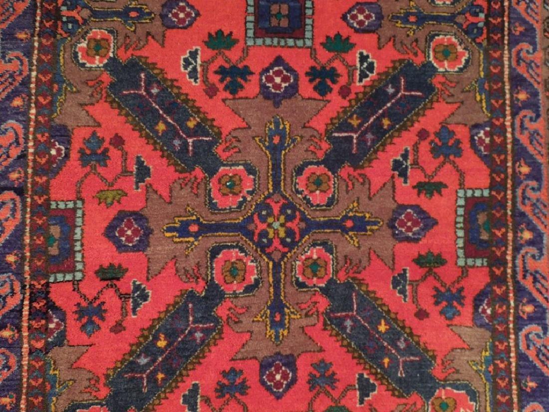 Kazak Caucsian Region Hand Knotted Antique Rug 4.2x6 - 4