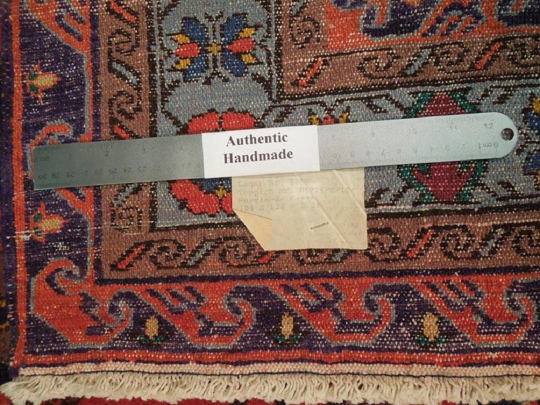 Kazak Caucsian Region Hand Knotted Antique Rug 4.2x6 - 6