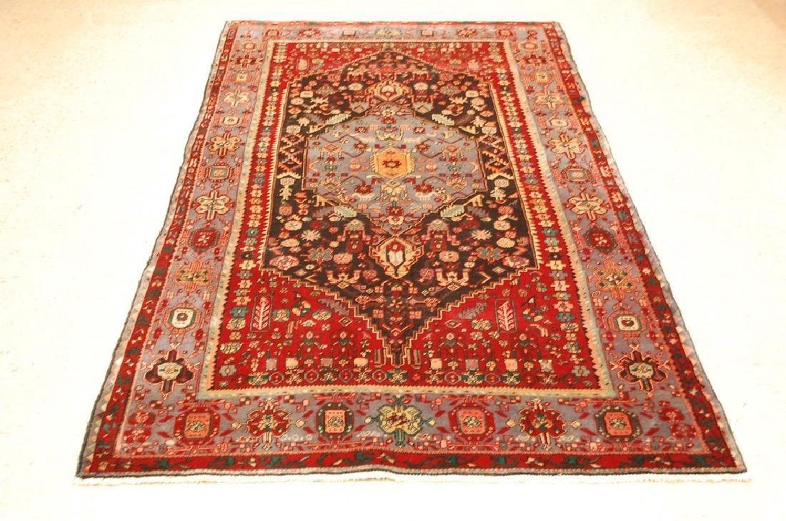 Persian Bijar Bidjar High Kpsi Kork Wool Rug 4.6x7.8