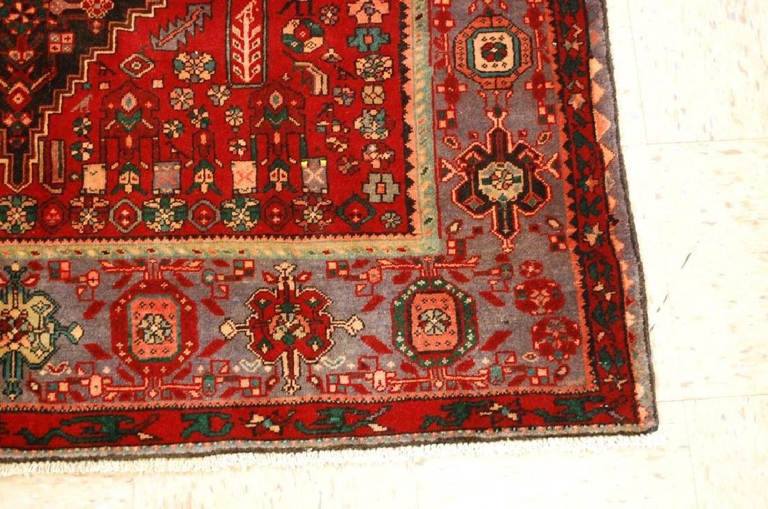 Persian Bijar Bidjar High Kpsi Kork Wool Rug 4.6x7.8 - 2