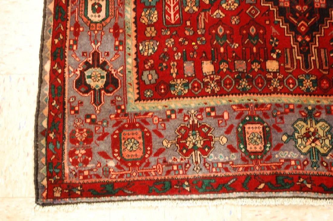 Persian Bijar Bidjar High Kpsi Kork Wool Rug 4.6x7.8 - 3
